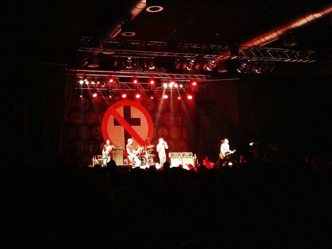 Bad Religion Concert Concert Photography Music Live Live Concert Punk Berlin Huxleys Punk Rock