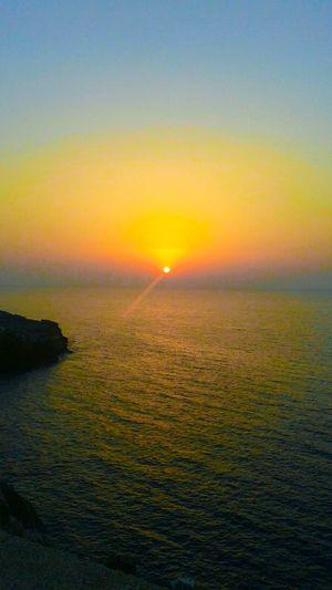Sunset Sea Scenics Beauty In Nature Nature Sun Horizon Over Water