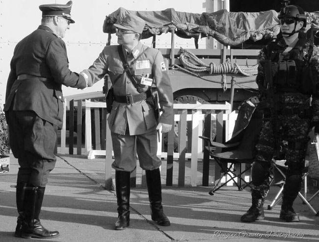 Handshake Respect Men In Uniform