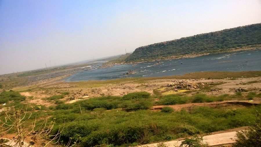 Nagarjunasagar River Krishna India