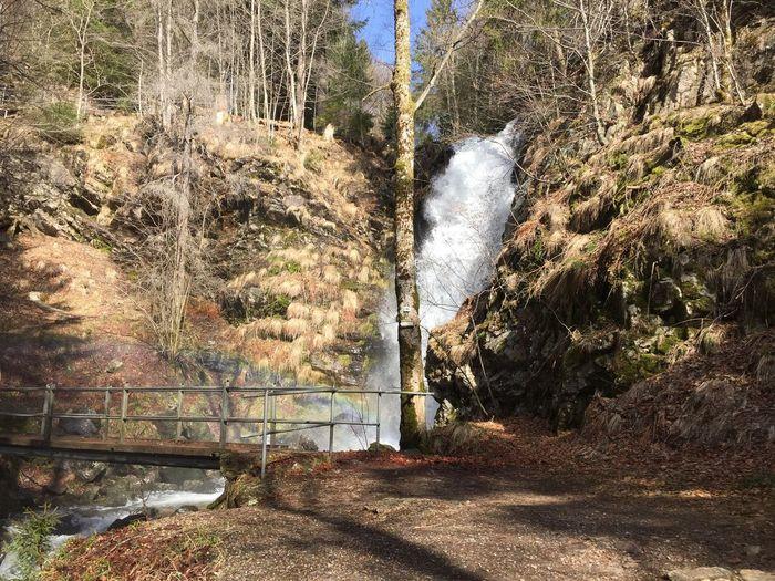 Todnau Waterfall Todnauer Wasserfälle