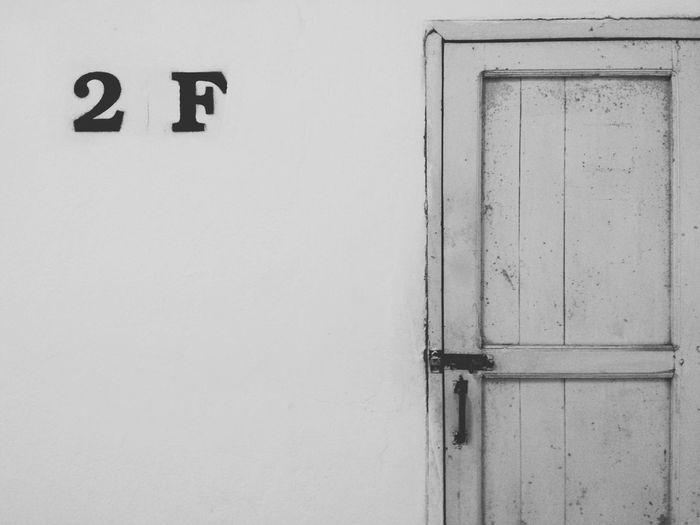 B&W Portrait Blackandwhite Door Abstract