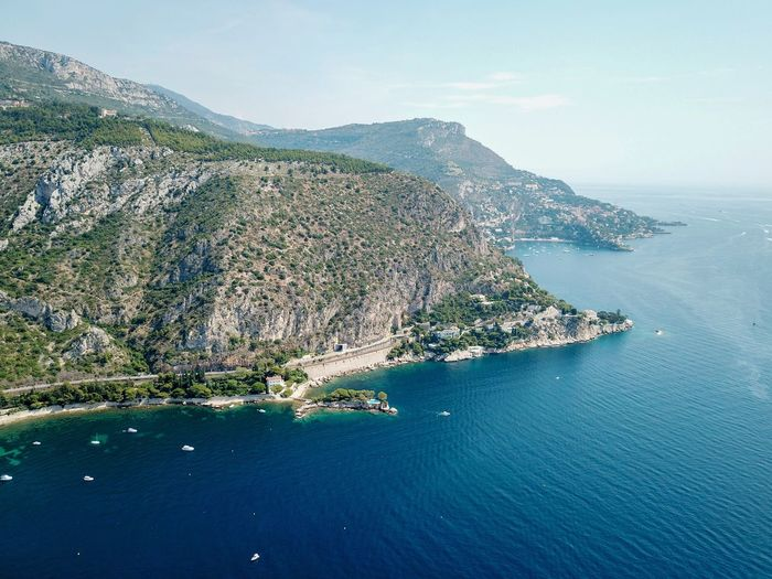 Coastline near Nice, France Travel Ocean France Landscape_Collection Nature Naturelovers Nature Photography EyeEm Nature Lover EyeEm Gallery Traveling Dji DJI Mavic Pro Dronephotography Drone  Droneshot Drone Photography Aerial Aerial View Aerial Photography Water Sea Beach Aerial View Sky Landscape Seascape Coast Horizon Over Water Coastline Rocky Coastline