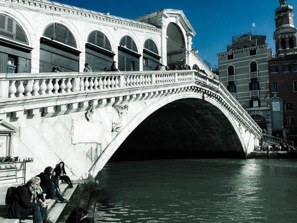 IPhoneography Venice Italy Rialto Rialtobridge City Urban Urban Geometry Architecture