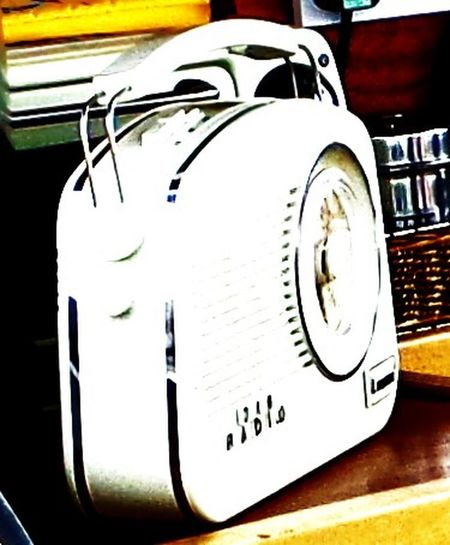 1950s Radio. Arty Photo. Black. Close-up Coloured. Detail Effects No People Outlines. Radio. Still Life Vintage Radio. Vintage. Whiote. White Colour. White.