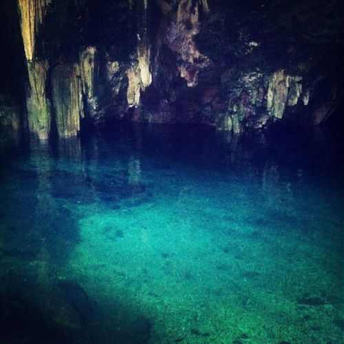 Cenote Relaxing Traveling