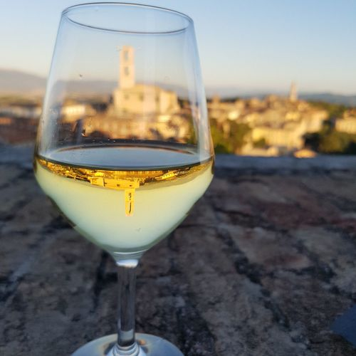 Perugia Italy Perugia Summer Umbria, Italy Umbria Umbriajazz Tonic Water Liqueur Wineglass Alcohol Drink Clear Sky Wine Beach Champagne Sunset