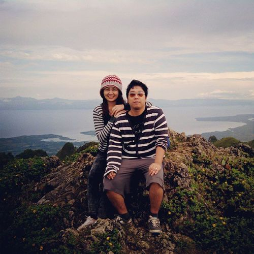 Highest mountain in cebu, and we'are at the peak of it \m/ @totsie_rol