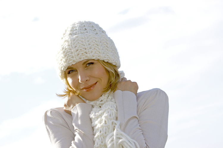 Blonde middle-aged woman on an autumn walk at the lake, portrait Autumn Walk Adult Adults Only Close-up Day Happiness Headshot Lake Lakeside Leisure Leisure Activity Lifestyles Looking At Camera Middle Aged Nature One Person Outdoors People Portrait Smiling Warm Clothing Women Young Adult Young Women