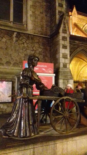 Molly malone ..... https://youtu.be/diUkiTs1gxM Hello World Taking Photos Check This Out From My Point Of View Ireland🍀 Outdoor Photography Eyeem2017 Dublin, Ireland Built Structure Sculpture Architecture Light And Shadow Scenics Outdoors The Places I've Been From My Eyes To Yours Out And About Beauty In Nature Night Streets Of Dublin Molly Malone