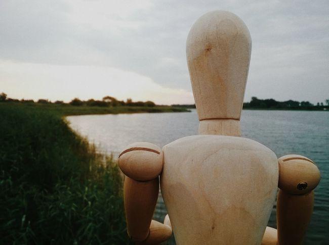 A Nostalgic View Lake Nature