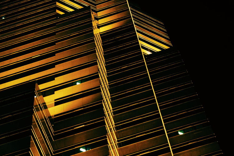 Low Angle View Architecture Built Structure Modern Office Building Place Of Work Architectural Feature Repetition Full Frame Tall The Week On Eyem Night Showcase October 2016 City Life Minimalist Architecture The Architect - 2017 EyeEm Awards The Architect - 2018 EyeEm Awards