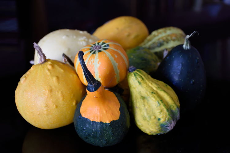 Close-Up Of Squash On Table