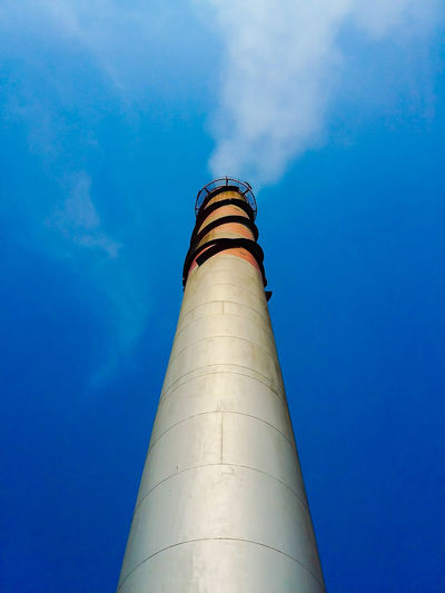 Industry White Indastrial Vent Stack Politics And Government Smoke Stack Social Issues Flying Business Finance And Industry Sky