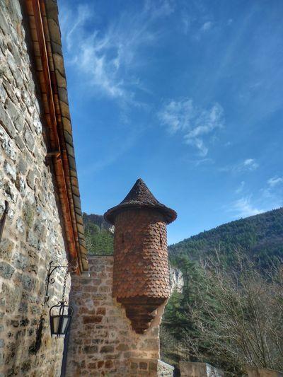 Architecture Built Structure History Castle Chateau De La Caze Lozère