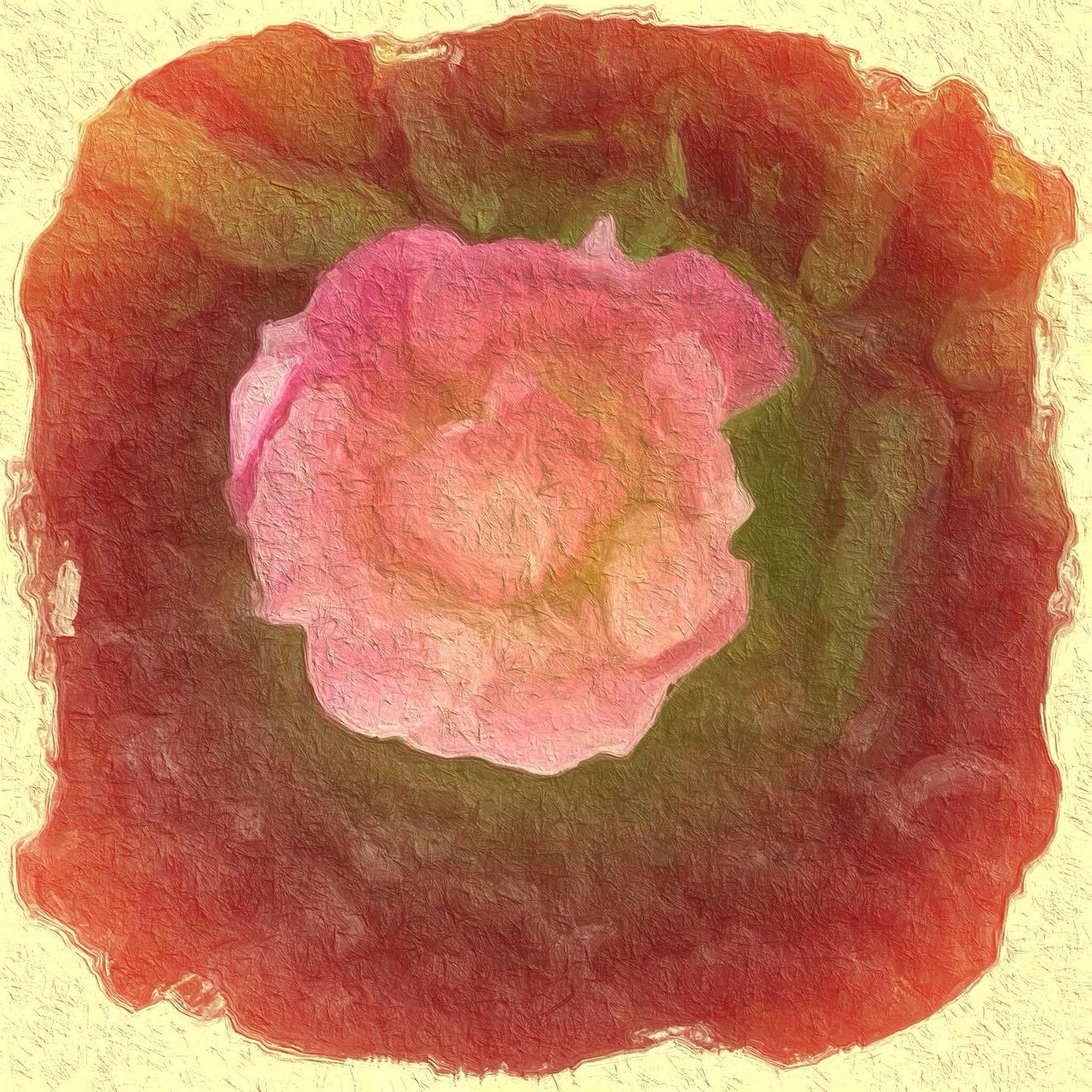 rock - object, textured, geology, no people, nature, paper, watercolor painting, close-up, flower, day, outdoors
