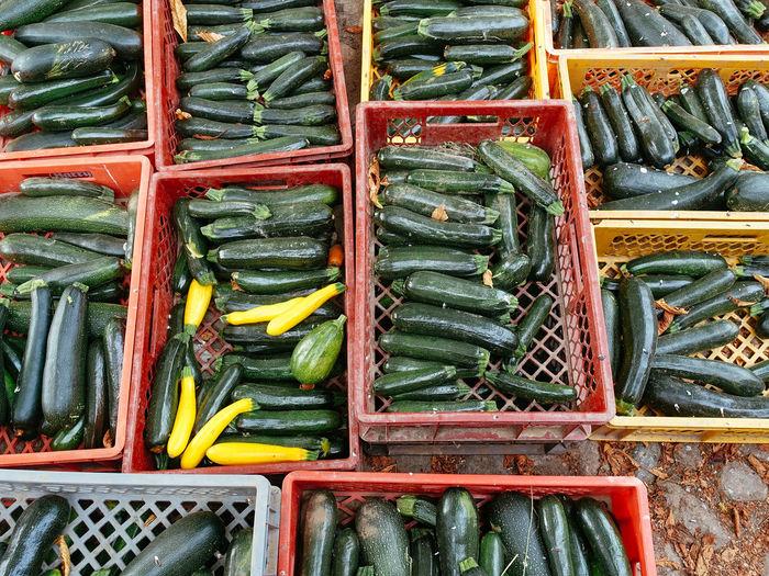 Full frame shot of food for sale at market stall