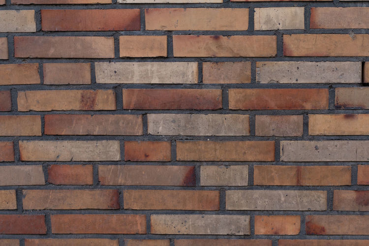 Brick Full Frame Backgrounds Brick Wall Wall - Building Feature Built Structure Architecture Wall Pattern Textured  No People Repetition Brown Day Design Close-up Building Exterior Red Outdoors Shape EyeEmNewHere