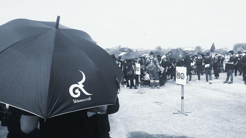 Umbrella Black Thainumbernine People 9 9 Day Outdoors Mourn Black Clothing