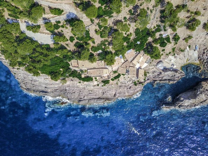 Mallorca Rich Aerial View Architecture Beauty In Nature Blue Building Exterior Built Structure Day Landscape Millionnaire Nature No People Outdoors Physical Geography River Scenics Tree Water