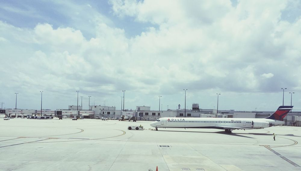 Delta Airlines Jet towed Investing In Quality Of Life The Traveler - 2018 EyeEm Awards