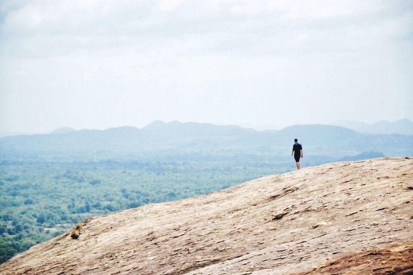 People And Places Sri Lanka SriLanka Mountain Rock Sigiriya Traveling Adventure Nature