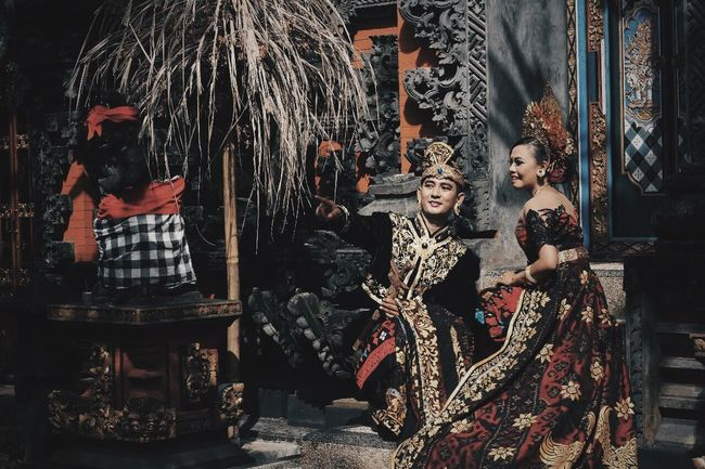 Prawedding Portrait Balinese Bali Indonesia Traditional Indonesia Culture Be. Ready. Outdoors Couple - Relationship Moments Of Happiness