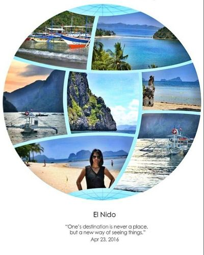 """"""" One's destination is never a place, but a new way of seeing things. """" Mytravelphotos Whitebeach Elnido Earthday"""