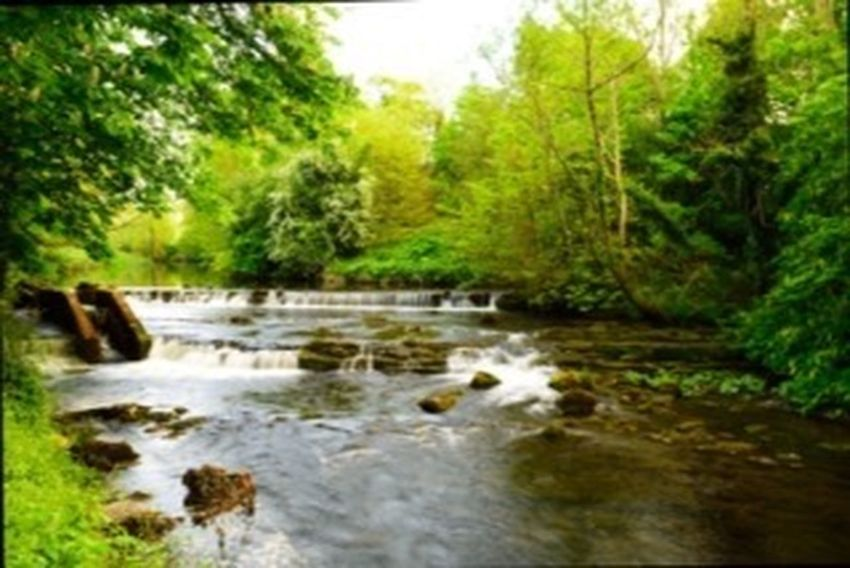 Ballina a tributary of the River Moy