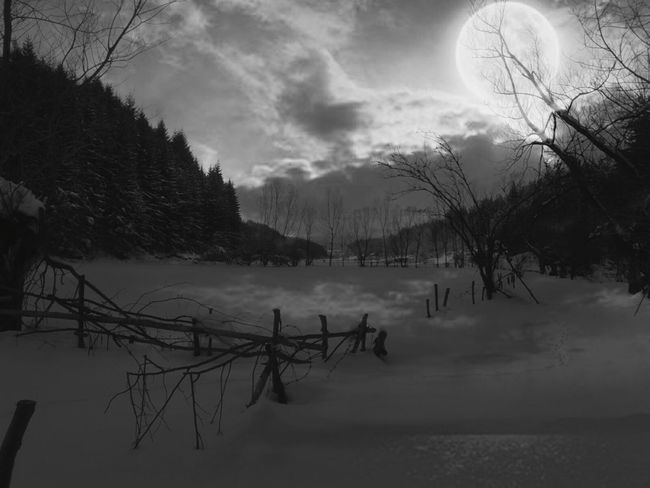 Blackandwhite Sky No People Beauty In Nature Cold Temperature Day Beauty In Nature Самоков България Samokov Bulgaria