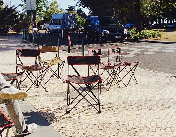 Chairs waiting for actors French Actors Making Movies EyeEm Best Shots Docsaude Documentary Portugal Photooftheday Photo Cascais E Estoril