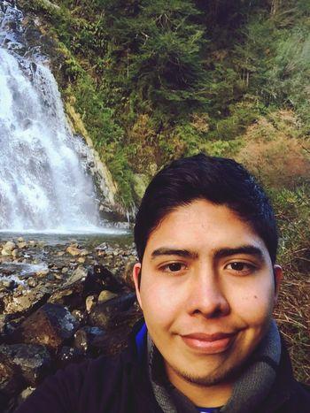 Salto del Leon, Aysen.- Selfie Enjoying Life Chile Aysen
