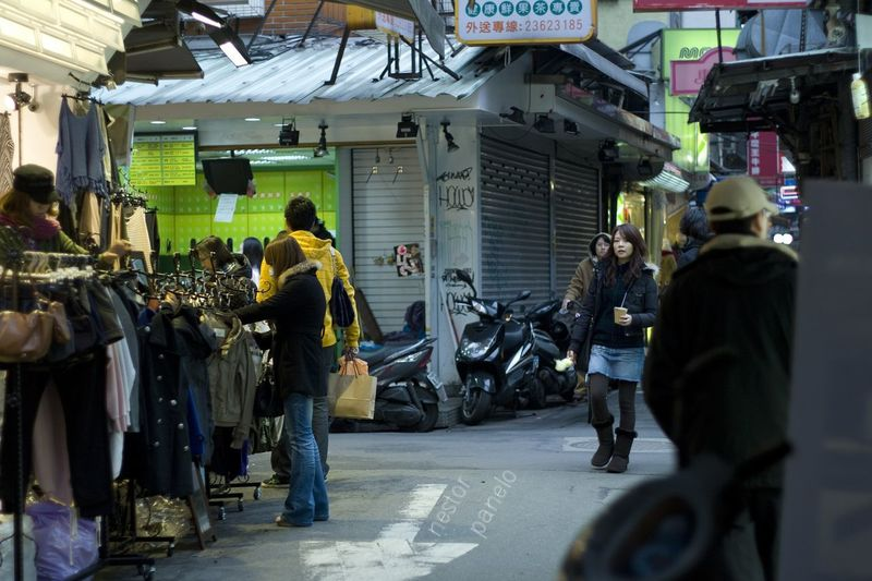 Taipei Street Market Street Photography A Moment
