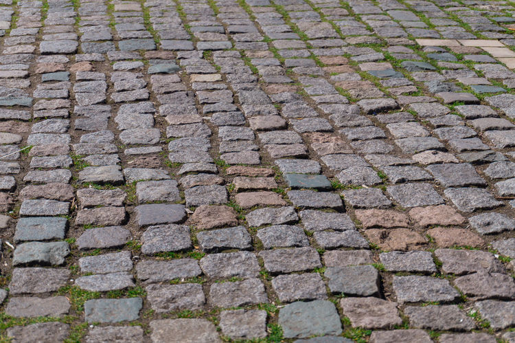 Pavement Pattern Pieces Outdoors Roadworks Pavement Patterns Pavements Pavement Stone Bricks Road Nature