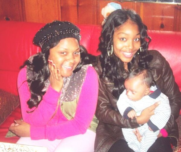 Me , Gee & her son Se'Maj