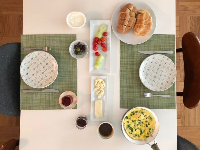 Breakfast Breakfast Time Minimalism Enjoying Life EyeEm Best Shots Eye4photography  Food And Drink Food Table Healthy Eating Directly Above Fruit Freshness Still Life Wellbeing High Angle View Ready-to-eat Serving Size Breakfast Kitchen Utensil No People Meal Plate