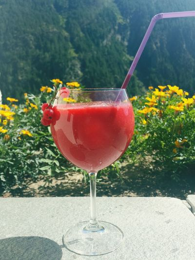 Frappe Merenda  Healthy Food Healthyliving Raspberry Mountain Flowers Vscocam Vscogood VSCO