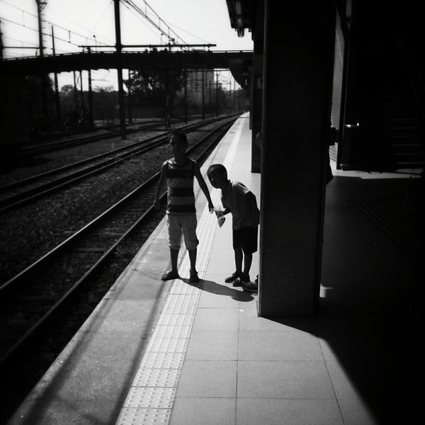 Boys! ♥ Streetphoto_bw Bw_collection NEMstreet Monochrome