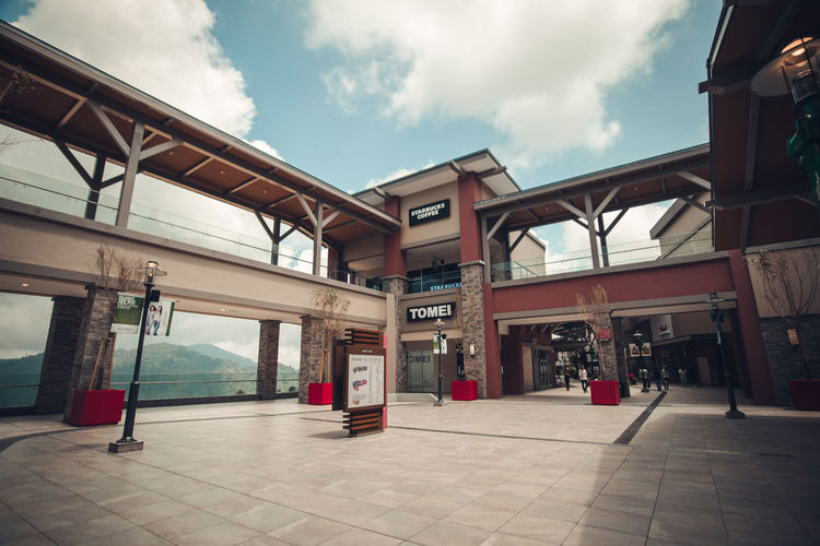 Genting Highland Premium Outlet Genting Highlands Shopping Travel Travel Photography Architecture Building Exterior Built Structure Cloud - Sky Day Genting Premium Outlet Gpo Malaysia No People Outdoors Shop Sky Travel Destinations