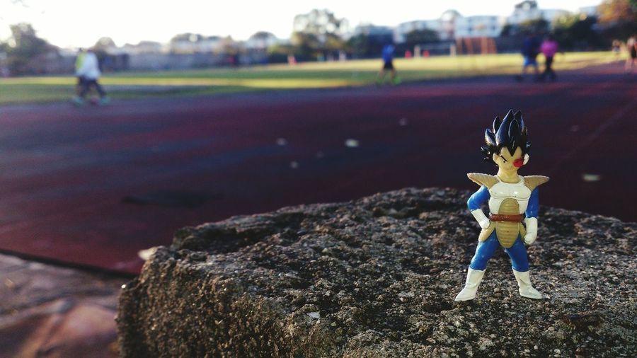 Vegeta corriendo INDES, Santa Ana, El Salvador. Dragonballz El Salvador Vegeta Runners Sport