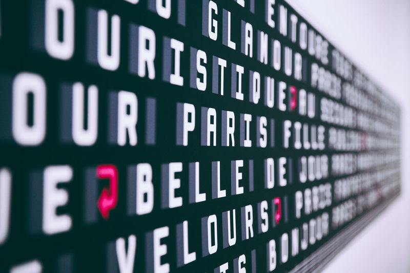 Alphabet Capital Letter Close-up Communication Control Detail Focus On Foreground Full Frame Guidance Indoors  Information Letters Music Number Paris Pompidou Selective Focus Sign Symbol Technology Text Western Script Fine Art Photography Art Is Everywhere AI Now