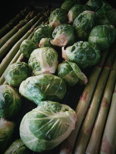 Close-up of brussels sprout