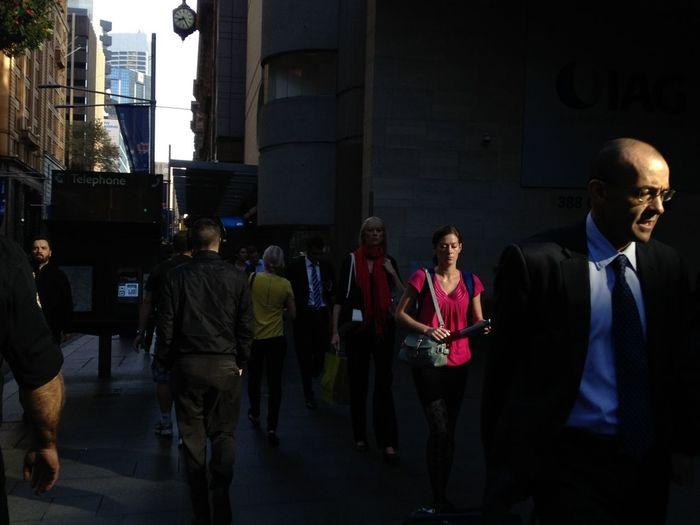 People Watching Streetphotography Rush Hour
