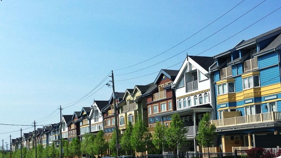 Architecture Beaches Townhouse Row Houses