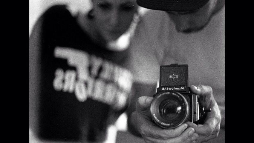 Mamiya 645 It's Me Film Photography Self Portrait