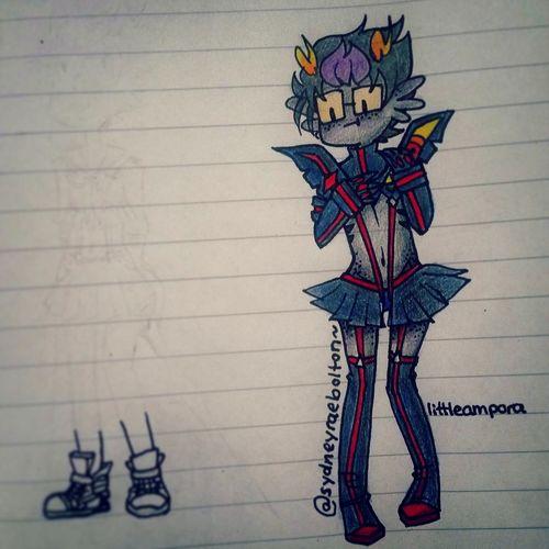 Kill La Kill  Homestuck My Drawings Drawings