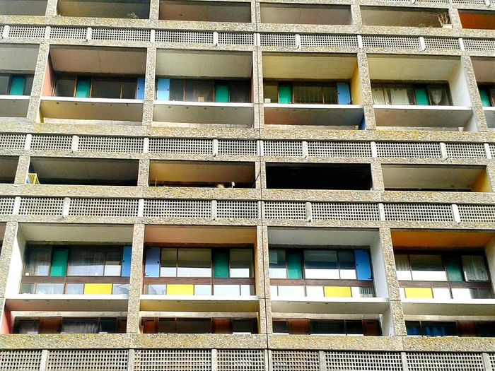 Architecture Maison Radieuse Urban Geometry Le Corbusier