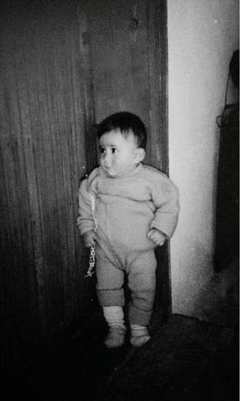 EyeEmNewHere Standing One Person Old-fashioned Indoors  Childhood Full Length Child