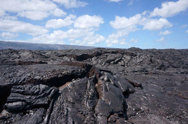 Lava Against Sky
