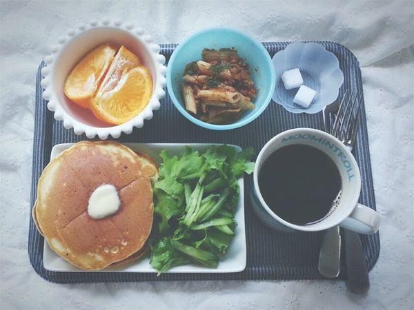 昼ごはん。 Lunch 昼ごはん ホットケーキ